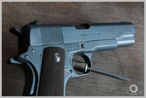 M1911 kit alu GUARDER bronzé à froid (BIRCHWOOD)
