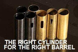 THE RIGHT CYLINDER FOR THE RIGHT BARREL