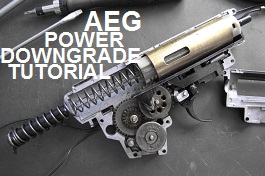 AEG POWER DOWNGRADE TUTORIAL