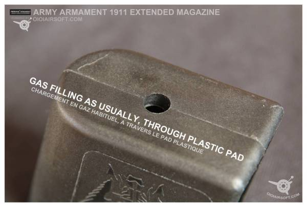R32 / 1911 Extended magazine – ARMY ARMAMENT | OioiAirsoft