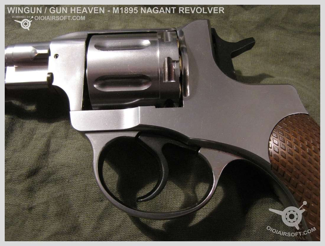 M1895 1895 nagant revolver wingun gun heaven co2 oldschool