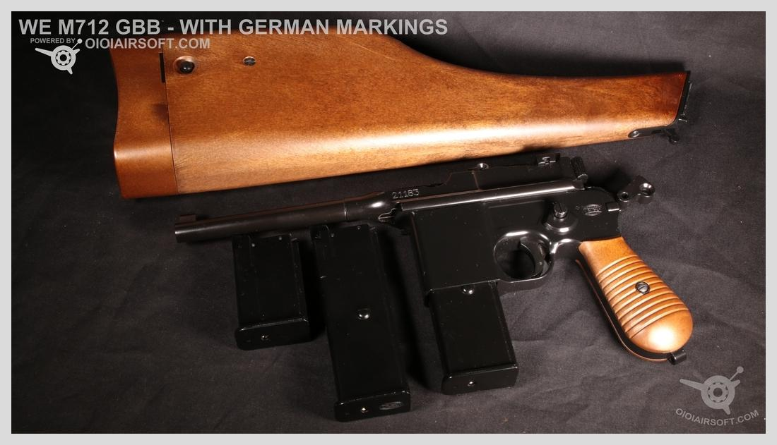 M712 – WE – GERMAN MARKINGS VERSION – GBB REVIEW | OioiAirsoft
