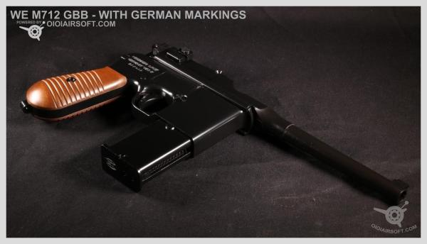 M712 – WE – GERMAN MARKINGS VERSION – GBB REVIEW   OioiAirsoft