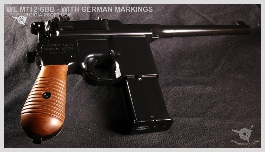 m712 we gbb german markings realistic real marking review